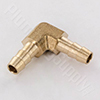 Brass Barbed 90 Elbow