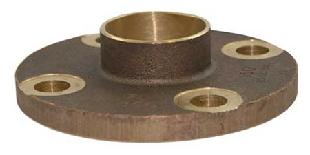 Companion flange with sweat connection