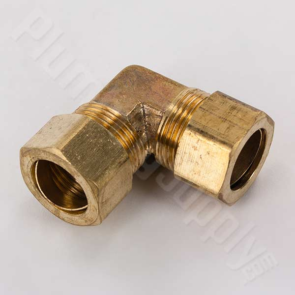 Brass compression fittings for potable drinking water