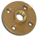 Floor flanges