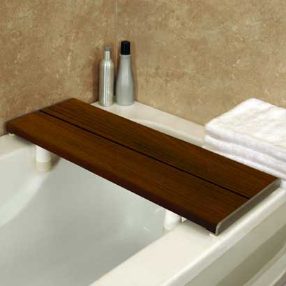 Sustainable bamboo wooden bath benches shower seats Bath bench