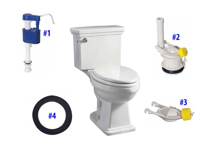 replacement parts for briggs hathaway toilet