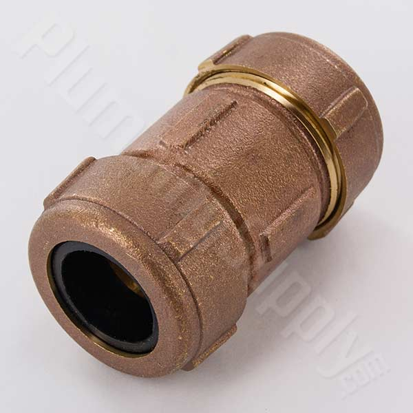 Bronze compression, dresser type, fittings for iron or