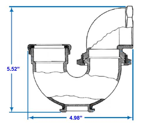 Bathroom Sink Faucet, What Size P Trap For Unique Diagram Bat Pipes Wiring  Free: