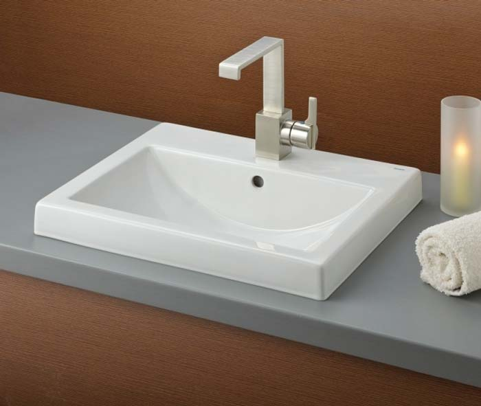 Camilla Semi Recessed Drop In Basin