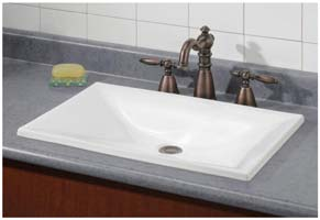 Image of Estoril contemporary rectangular sink