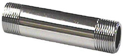 example of a chrome plated pipe nipple