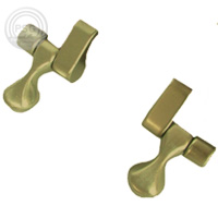 wooden toilet seat hinges. oak finish with brass hinges  51 62 Elongated Extended toilet seat Fashionable solid wood and veneer seats