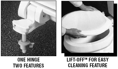 No Slam Toilet Seat Hinge No Slam Toilet Seat Easy Close White - Toilet seat with no lid