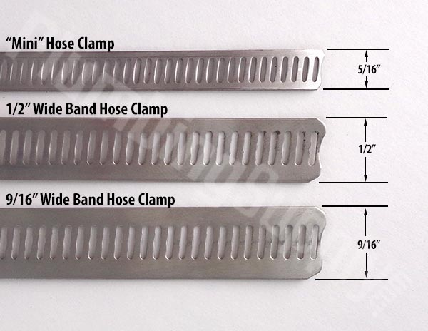 We offer these stainless steel hose cl&s in three sizes  sc 1 st  PlumbingSupply.com : big hose clamps - www.happyfamilyinstitute.com