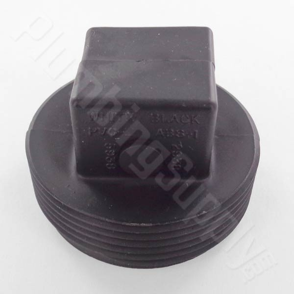 1-1/2inch ABS raised cleanout plug