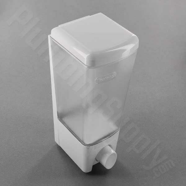 Clear Choice Soap/Shower One Compartment Dispenser