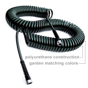 CCoiled Stretchable Garden Hoses Accessories and More