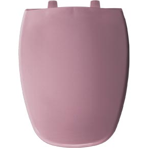 Elongated toilet seat - Dusty Rose