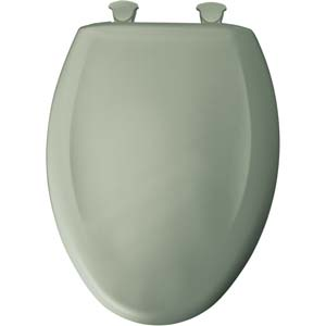 Bemis elongated toilet seat - Aspen Green
