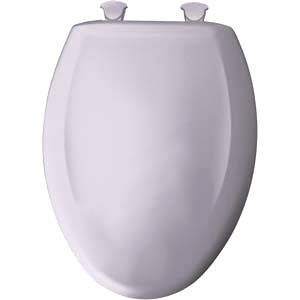 Bemis elongated toilet seat - Lilac Grey