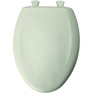 Bemis elongated toilet seat - Sea Mist Green