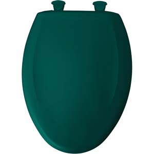 Bemis elongated toilet seat - Teal