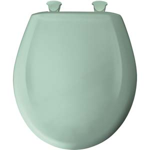 burgundy toilet seat cover.  Bemis round toilet seat Aegean Mist Colored seats to match your current or discontinued