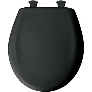Sensational Round Toilet Seat Black 047 Ibusinesslaw Wood Chair Design Ideas Ibusinesslaworg