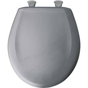 Bemis round toilet seat - Country Grey