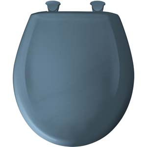Bemis round toilet seat - Denim Blue