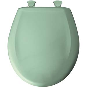 Bemis round toilet seat - Sea Green