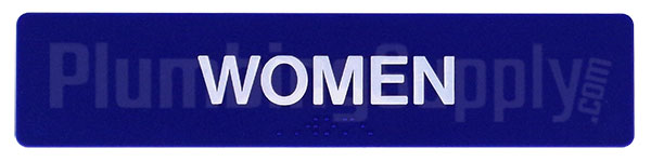 image of Sidebar Women's Restroom Sign