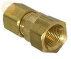 example of a lead free brass compression female pipe adapter
