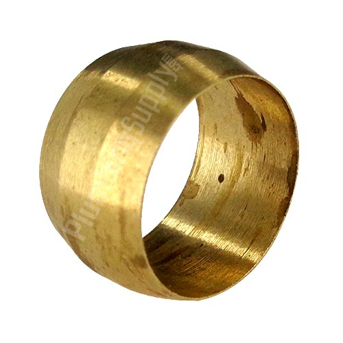 example of a brass compression sleeve