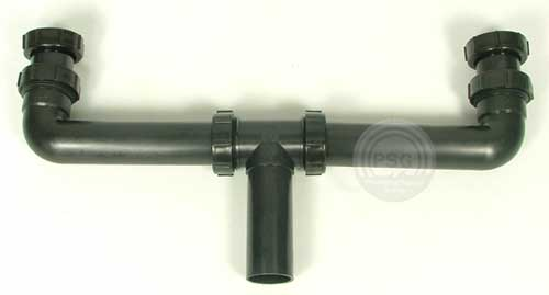 Low Profile Tailpiece Kitchen Sink Drain