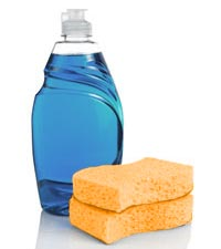 Use only mild soap and water for cleaning