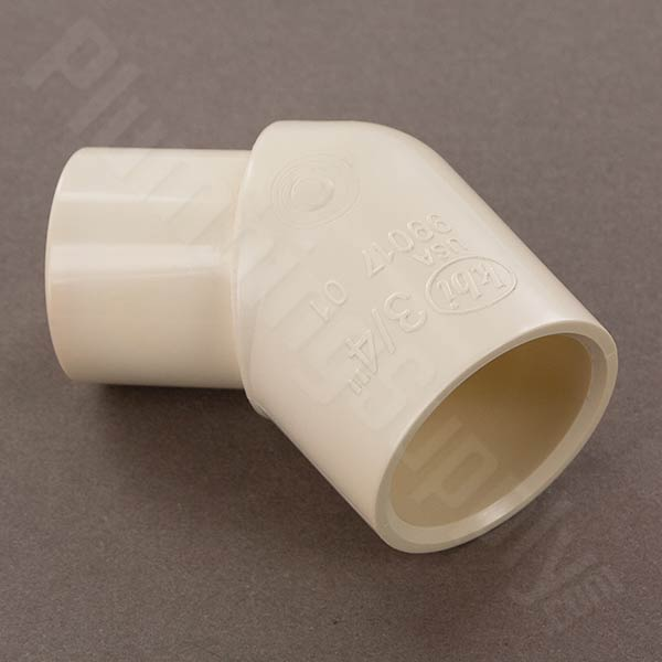 Cpvc cts fittings for hot and cold water applications