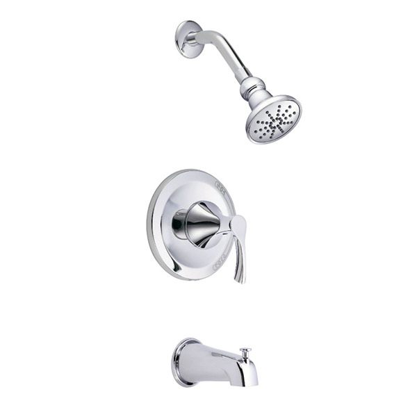 Danze pressure balance anti scald shower and tub faucet