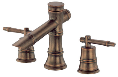 Photo of the Danze South Sea widespread lav faucet