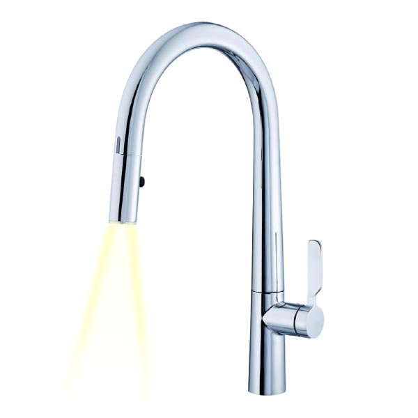 hands free sensor operated kitchen faucets
