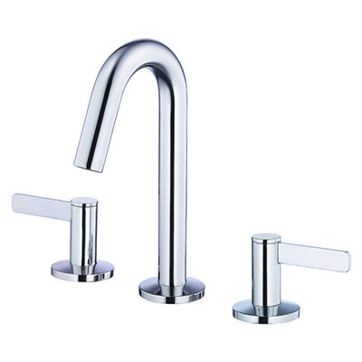 Danze Amalfi collection two handle widespread bathroom faucet