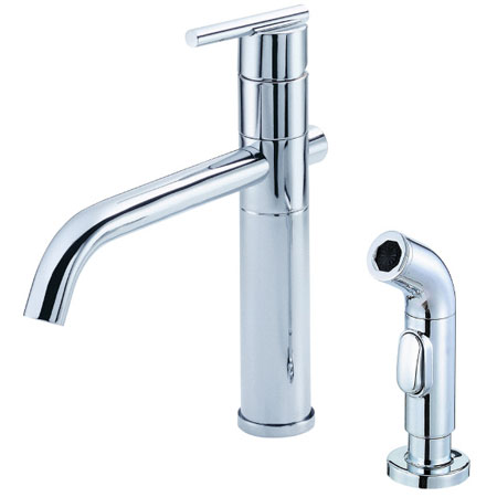 an image of the Danze Parma deck mount kitchen faucet
