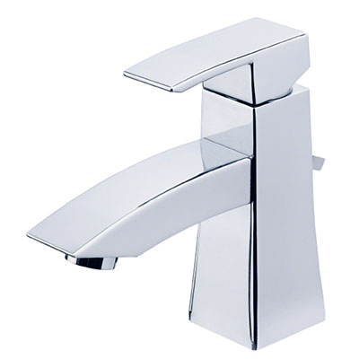 Danze Logan Square collection single handle bathroom faucet