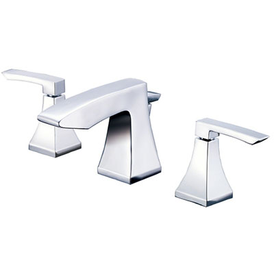 Danze Logan Square collection two handle widespread bathroom faucet