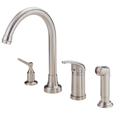 Danze Melrose collection single side handle kitchen faucet
