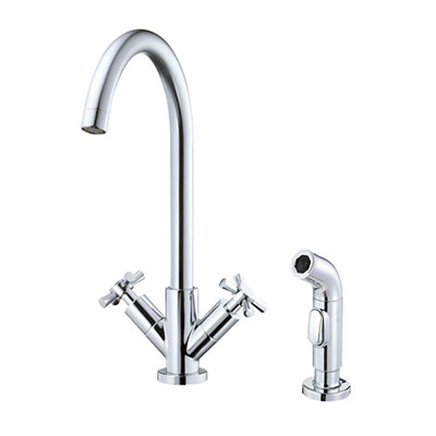 Danze Parma collection two handle kitchen faucet