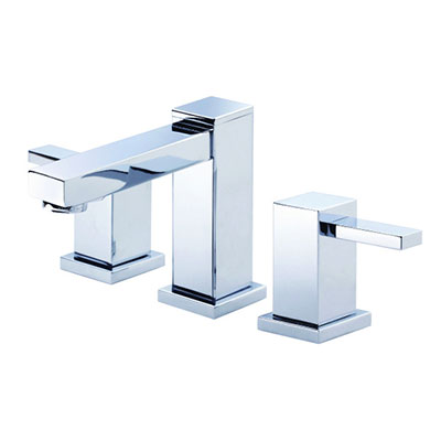 Danze Reef collection two handle widespread bathroom faucet