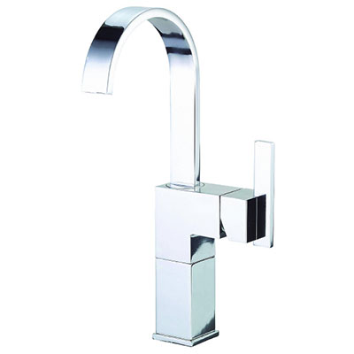 Danze Sirius collection single handle vessel-style deck mount bathroom faucet