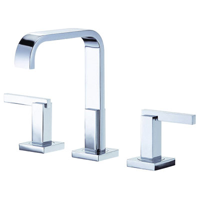 Danze Sirius collection two handle trimline widespread bathroom faucet