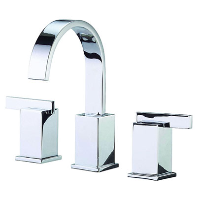 Danze Sirius collection two handle widespread bathroom faucet