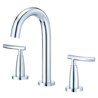 Danze Sonora collection two handle trimline widespread bathroom faucet