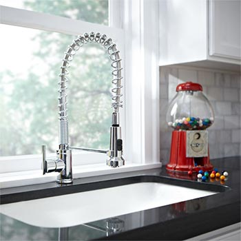 Danze pulldown kitchen faucet
