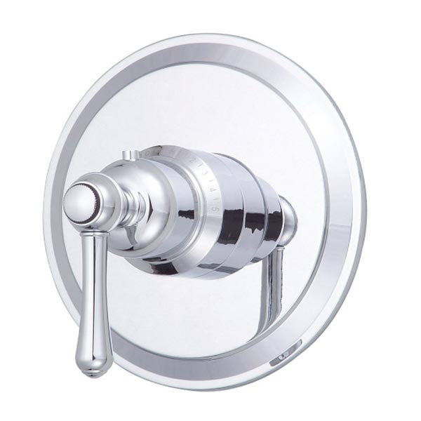 Chrome single handle faucet valve