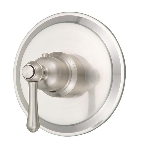 Brushed Nickel single handle faucet valve